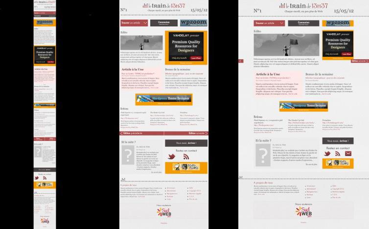 Exemple de responsive design